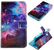 Starry Sky Pattern PU Leather Case for Nokia Lumia 630