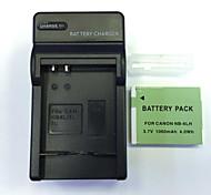 nos cargador 4.2v nb-6LH casa + (1) de la batería para Canon SX600 SX700 s120 sx520 510