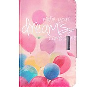 Balloon Dream Pattern PU Leather Protective Sleeve For Samsung Galaxy /T550 /T530/T350/T230/T560