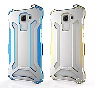 Gundam Double Color Oxidation Aluminum Metal Case Cover for Huawei Honor 7