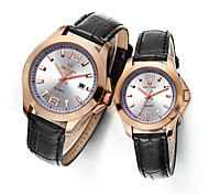 MEGIR® Men and Women Watch Top Fashion Brand for Lover's Watches Waterproof Cool Watches Unique Watches