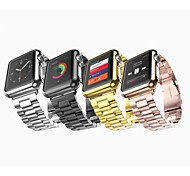Metal Newest Three Beads Button Modern Buckle Fashion King Kong Strap Men And Women for Apple Watch38/42mm