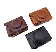 Dengpin PU Leather Camera Case Bag Cover with Shoulder Strap for Olympus SH-2 SH-1 (Assorted Colors)