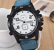 L.WEST Men's Leisure Sports Quartz Watch Wrist Watch Cool Watch Unique Watch
