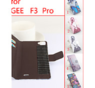 Flip Leather Magnetic Protective Case for DooGee F3/F3 Pro(Assorted Colors)