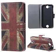 Vintage UK Flag Wallet Leather Stand Case for Acer Liquid Jade Z