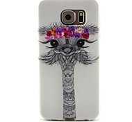 For Samsung Galaxy Case Pattern Case Back Cover Case Animal TPU Samsung S6 / S5 Mini / S5 / S4 Mini / S4 / S3 Mini / S3