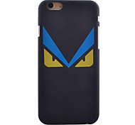 Angry Eyes Pattern Smooth Surface PC Hard Back Cover Case for iPhone 5/5S