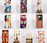 For Alcatel Case Pattern Case Back Cover Case Cartoon Soft TPU Alcatel