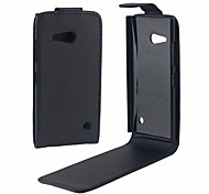 PU Leather Up Down Flip Mobile Skin Case Cover For Nokia Lumia 730/535/435/540