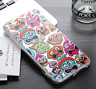It Will Move the Eyes Monster Hip hop Fashion PC and TPU Phone Case for iPhone 6/6s