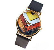 Vintage Geometric Pattern Watch For Women Quartz Watches