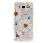 White Pattern TPU Soft Phone Case for Samsung Galaxy J2/J5/G360/G530