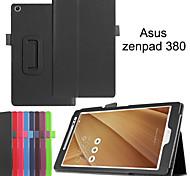 protettivo casi tablet cuoio della staffa casi fondina per Z380 asus zenPad
