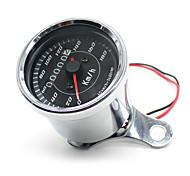 Cool LED light Universal Odometer Speedometer Meter for Motorcycle km/h