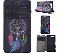 Dreamcatcher Painted PU Phone Case for Sony Xperia Z5 Compact