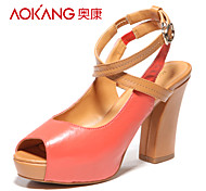 Aokang® Women's Leather Sandals - 132711013