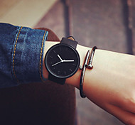 New Women Black Geek Fashion Casual Waterproof Cool Minimalist Unisex Quartz Rubber Strap Wristwatches Cool Watches Unique Watches