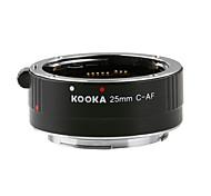 Kooka кк-c25 удлинительная трубка ввод 3,5 мм с автофокусом ТТЛ взрыва для Canon EF&EF-S зеркальных камер