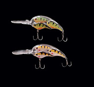 2pcs/lot Koppers BaitBall Threadfin Shad Crankbait Pearl Fishing Lure Fishing bait  Fishing Tackle