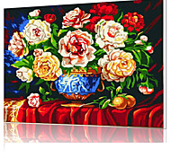 DIY Digital Oil Painting  Frame Family Fun Painting All By Myself   Blooming Flowers  X5052