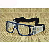 [Free Lenses]  Men 's Acetate/Plastic Square Full-Rim Sports Prescription Eyeglasses