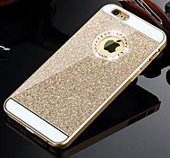 HZBYC®Solid Luxury Bling Glitter Back Cover Case with Diamond for iPhone 4/4S(Assorted Colors)
