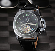 FORSINING® Men's Tourbilion Design Hollow Auto Mechanical Fashion Watch Cool Watch Unique Watch