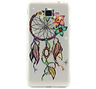 Campanula Pattern TPU Soft Phone Case for Samsung Galaxy J2/J5/G360/G530