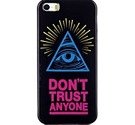 Colorful eyes  Pattern TPU Phone Case for iPhone 5/iPhone 5S