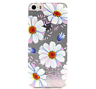 Sunflower Pattern TPU Phone Case For iPhone 5/5S