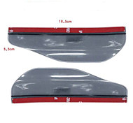 Practical Car Rearview Mirror Rain Eyebrow(2 Pieces of Set)