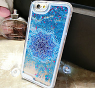 Restoring Ancient Ways Pattern Quicksand Phone Case Back Cover Case for iPhone6 Plus