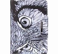 la novedad de la historieta de la hebilla magnética de la PU cuero caso folio caso a prueba de golpes para Mini iPad 3/2/1
