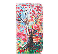 Tree Pattern PU Leather Painted Phone Case For GALAXY S3/ S4 / S5 / S6 / S6edge / S3 Mini / S4 Mini / S5 Mini