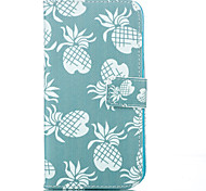 Pineapple Leather Wallet for Samsung Galaxy J1 J5