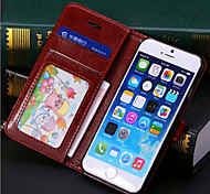 PU Leather Package Shell / Support / Clamshell Mobile Phone Protective Sleeve For Iphone6 Plus Mobile Phone