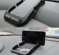 Super carrinho lebosh com dupla função cartão multifuncional cartão de estacionamento anti derrapante pad telemóvel Horder