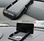 lebosh Superwagen mit Doppelkarte multifunktionale Antibelegauflage Parkkarte-Funktion Handy Horder
