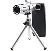 New 12× Telephone Lens for Smartphone with Clip & Universal Holder & Mini Tripod & Lens Sets