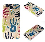 Personalized Mobile Phone Shell 3D Camouflage Hand TPU Shell After Samsung Galaxy S4i9500