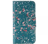 Floral Pattern Cell Phone Leather For iPhone 6/6S