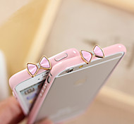 Solid Color 3D Bowknot Frame Cover Case for iPhone 6/iPhone 6S