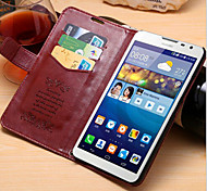 PU Leather Protective Sleeve For Huawei Card Support  Mate2 Mobile Phone