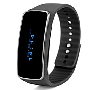V5S Bluetooth V4.0 BLE Fitness Smart Bracelet Band with Display Pedometer Step Calories Counter Call Reminder Anti-lost