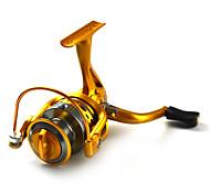 Mulinelli per spinning 5.5:1 10 Cuscinetti a sfera IntercambiabilePesca di mare / Pesca a mosca / Pesca a mulinello / Pesca a ghiaccio /