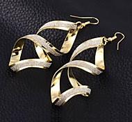 Ohrring Tropfen-Ohrringe Schmuck 2 Stück Damen Silber
