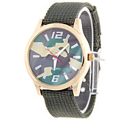 Male Fashion Pattern Circular Knitting With Chinese Movement Wrist Watch(Assorted Colors)