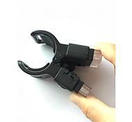 Bike Light Front Bike Light White Led Light  60 Lumens Clip Design/ USB Rechargeable / easy to fit