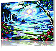 DIY Digital Oil Painting  Frame Family Fun Painting All By Myself  The Night  X5035